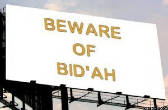 mereka bicara soal bid'ah