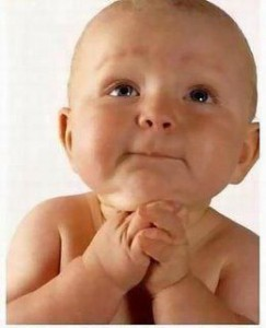 Bayi berdoa