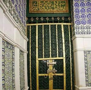 Pintu Makam Nabi