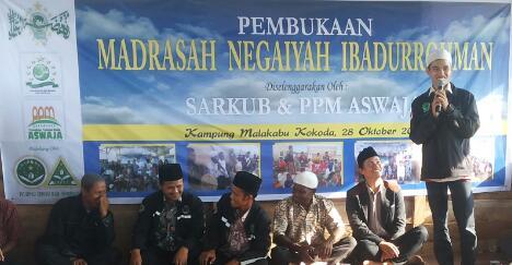 Pembukaan Madrasah Malakabu Kokoda Papua Barat 3